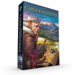 Cartographers: A Roll Player Tale (2019) - настолна игра