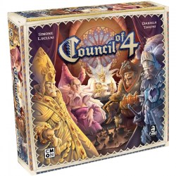 Council of 4 (Second edition, 2018) - настолна игра