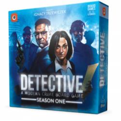 Detective: A Modern Crime Board Game – Season One (2020) - настолна игра