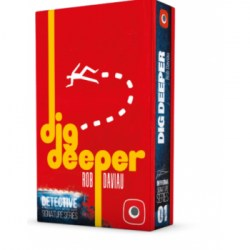 Detective: A Modern Crime Board Game Signature Series – Dig Deeper Expansion (2020) Board Game