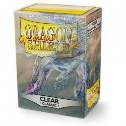 Dragon Shield - premium sleeves (clear classic) 100 per pack in Standard Size (Magic, LCG игри и др., 63.5x88мм размер на картите)