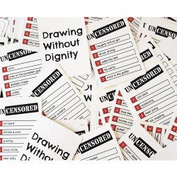 Drawing Without Dignity: An Adult Party Game of Uncensored Sketches (2016) Board Game