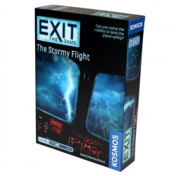 """Exit: The Game - The Stormy Flight (2019)  - """"escape room"""" настолна игра"""
