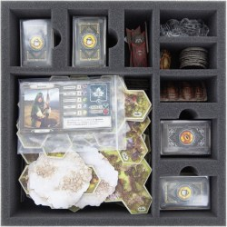 Feldherr foam set for The Lord of the Rings: Journeys in Middle-earth - board game box insert