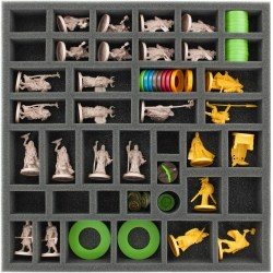 Feldherr foam tray set for Blood Rage - board game box insert Board Game