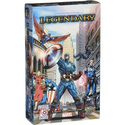 Legendary: A Marvel Deck Building Game - Captain America 75th Anniversary Small Box Expansion