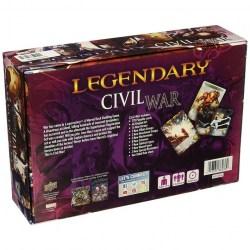 Legendary: A Marvel Deck Building Game - Civil War (2016) Expansion Board Game