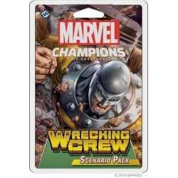 Marvel Champions: The Card Game - The Wrecking Crew Scenario Pack Board Game