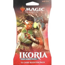 MTG: Ikoria: Lair of Behemoths - Booster (1) в Magic: the Gathering