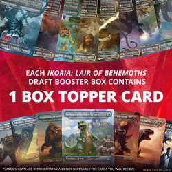 MTG: Ikoria: Lair of Behemoths - Booster Box (Booster Display, 36 boosters + Box Topper)