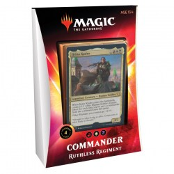MTG: Ikoria - Lair of Behemoths - Ruthless Regiment Commander 2020 Deck в Magic: the Gathering