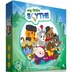 My Little Scythe (2017) Board Game