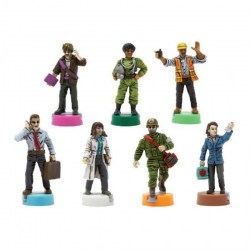 Pandemic: 10th Anniversary Edition Painted Figures