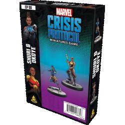 Marvel: Crisis Protocol – Shuri and Okoye Expansion (2019) в Marvel: Crisis Protocol