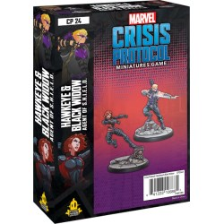 Marvel: Crisis Protocol – Hawkeye & Black Widow, Agent of S.H.I.E.L.D. Expansion (2020) in Marvel: Crisis Protocol
