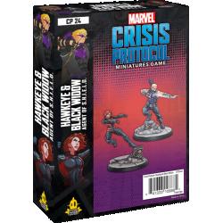 Marvel: Crisis Protocol – Hawkeye & Black Widow, Agent of S.H.I.E.L.D. Expansion (2020) в Marvel: Crisis Protocol