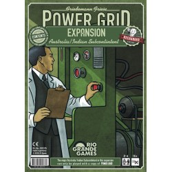 Power Grid: Australia & Indian Subcontinent (English Recharged Edition, 2019) - разширение за настолна игра