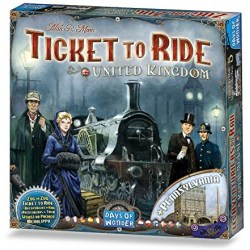 Ticket to Ride Map Collection: Volume 5 – United Kingdom & Pennsylvania (2015) - разширение за настолна игра