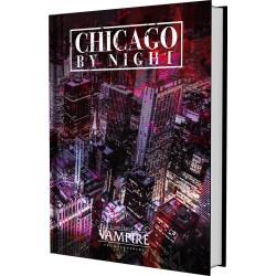 Vampire: The Masquerade 5th Edition Chicago By Night sourcebook (Hardcover)