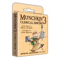 Munchkin 3: Clerical Errors Expansion (2003) Board Game