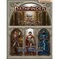 Pathfinder RPG Second Edition: Lost Omens Gods & Magic (2019) in Pathfinder 2nd Edition Books