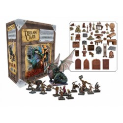 Terrain Crate: GMs Dungeon Miniatures Starter Set в Терени за игри