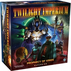 Twilight Imperium (Fouth Edition): Prophecy of Kings Expansion (2020) - разширение за настолна игра