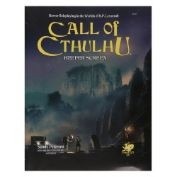 Call of Cthulhu RPG: Keeper Screen Pack (7th Edition) + PDF in Other RPGs