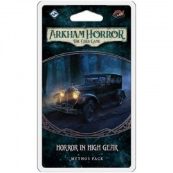 Arkham Horror: The Card Game - The Innsmouth Conspiracy cycle 3 - Horror in High Gear Mythos Pack Board Game