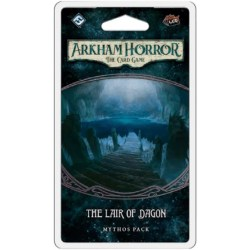 (Pre-order) Arkham Horror: The Card Game - The Innsmouth Conspiracy cycle 5 - The Lair of Dagon Mythos Pack
