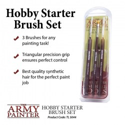 Army Painter - Hobby Starter Brush Set in Army Painter Brushes