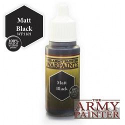 Army Painter Warpaints - Matt Black (18ml) in Army Painter Paints