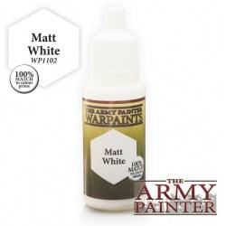Army Painter Warpaints - Matt White (18ml) в Army Painter акрилни бои