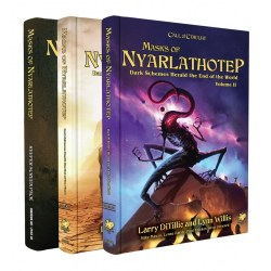 Call of Cthulhu RPG: Masks of Nyarlathotep Slipcase Set + PDF в D&D и други RPG / Други RPG