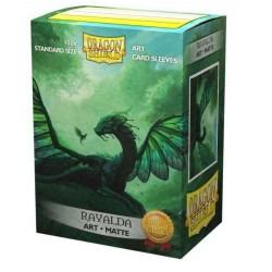 Dragon Shield Rayalda Art Sleeves - 100 premium art sleeves in Standard Size (Magic, LCG игри и др., 63.5x88мм размер на картите)