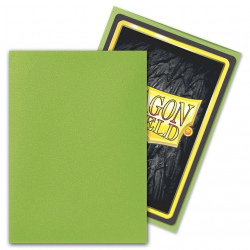 Dragon Shield Standard Sleeves - Matte Lime - 100 per pack in Standard Size (Magic, LCG игри и др., 63.5x88мм размер на картите)