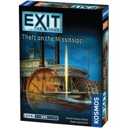 "Exit: The Game - The Theft on the Mississippi (2020) - ""escape room"" настолна игра"