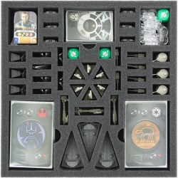 Feldherr foam set for Star Wars Rebellion: Rise of the Empire expansion - board game box insert in Box organizers