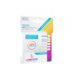 Gamegenic Matte Square-Sized Sleeves 73x73mm (50 premium sleeves) in Sleeves