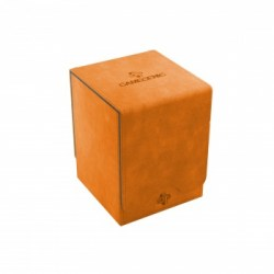 Gamegenic Squire Deck Holder (100+) - Orange in Deck boxes
