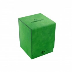 Gamegenic Squire Deck Holder (100+) - Green in Deck boxes