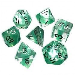 Комплект D&D зарове: Gate Keeper Neutron Dice Mint в D&D и други RPG / D&D Зарове