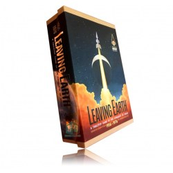 Leaving Earth: Base Game with Mercury Expansion (2016, Second Edition) - настолна игра