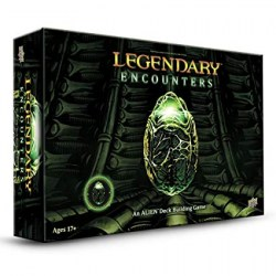 [Леко увредена кутия, неразпечатана] Legendary Encounters: An Alien Deck Building Game (2014) - кооперативна настолна игра
