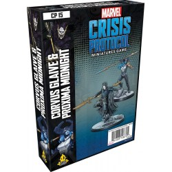 Marvel: Crisis Protocol – Corvus Glaive & Proxima Midnight Expansion (2020) в Marvel: Crisis Protocol