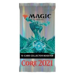 MTG: Core Set 2021- Collector Booster (1) в Magic: the Gathering