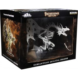 Pathfinder Deep Cuts Unpainted Miniatures: W11 Gargantuan Skeletal Dragon в D&D и други RPG / D&D Миниатюри