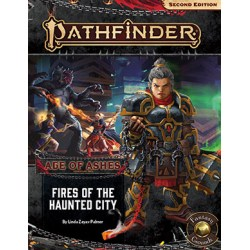 Pathfinder RPG Second Edition: Adventure Path - Age of Ashes #4 Fires of the Haunted City (2020) in Pathfinder 2nd Edition Books