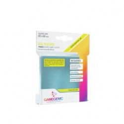 Gamegenic Prime Big Square Sleeves 82x82mm (50 premium clear sleeves) in Sleeves