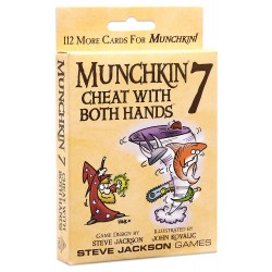 Munchkin 7: Cheat With Both Hands Board Game